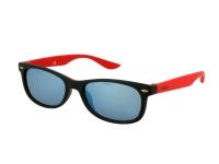 Alensa.es - Lentillas - Gafas de sol para niños Alensa Sport Black Red Mirror