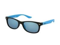 Alensa.es - Lentillas - Gafas de sol para niños Alensa Sport Black Blue Mirror