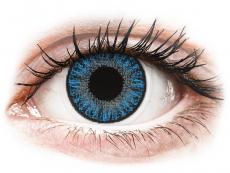 Azul Sapphire Blue lentillas TopVue Color daily Graduadas (10lentillas)