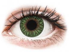 Verde Green lentillas TopVue Color Graduadas (2lentillas)