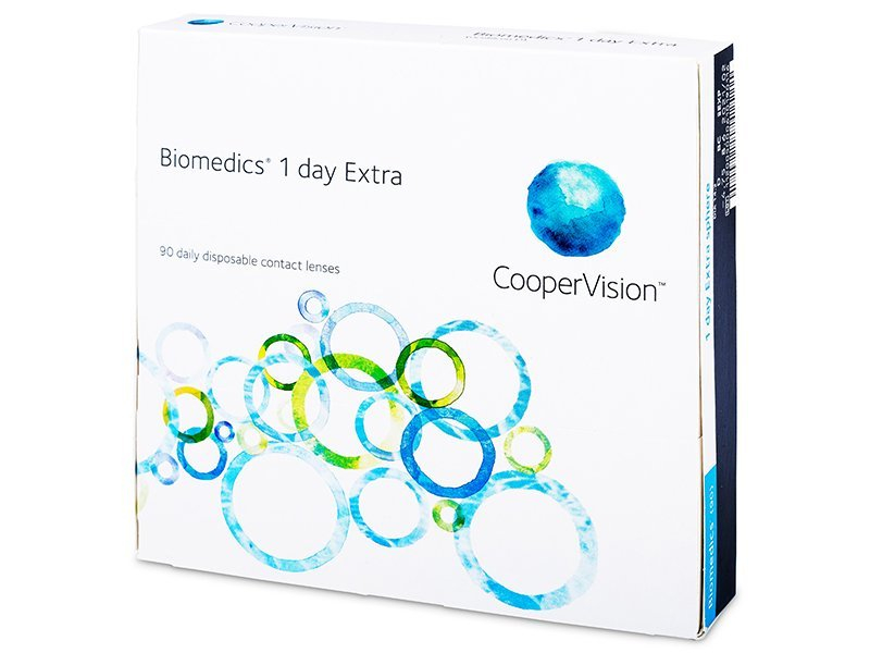 Biomedics 1 Day Extra (90lentillas)
