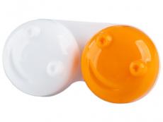 Estuche de lentillas 3D - naranja