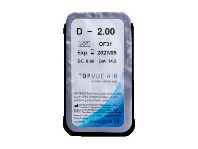 TopVue Air (6 Lentillas)