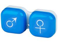Alensa.es - Lentillas - Estuche para lentillas Hombre y mujer - Azul