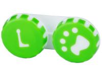 Alensa.es - Lentillas - Estuche de lentillas con huella - verde