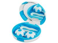 Alensa.es - Lentillas - Estuche de lentillas Futbol - Azul