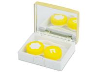 Alensa.es - Lentillas - Estuche de lentillas elegante - amarillo