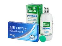Alensa.es - Lentillas - Air Optix plus HydraGlyde (3 lentillas)