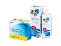 PureVision 2 for Presbyopia (6 lentillas) + Líquido Gelone 360 ml