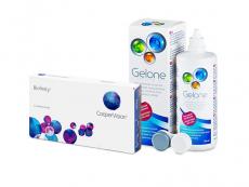 Biofinity (3 lentillas) + Líquido Gelone 360 ml