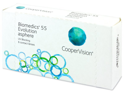 Biomedics 55 Evolution (6 Lentillas)