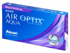 Air Optix Aqua Multifocal (6Lentillas)
